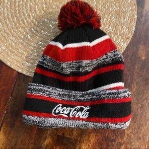 🏝 New Era Coca Cola lined beanie
